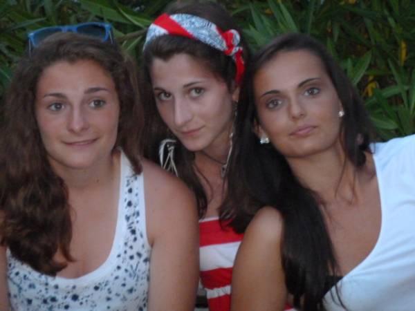 Michelle, Giulia e Valentina